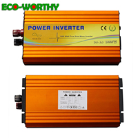 Eco 1000W Pure Sine Wave Inverter 12V to 220V Off Grid Inverter 1KW Inverter for Solar power Panels Solar System solar power kit