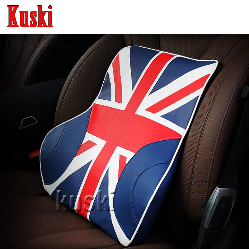 NEW 1pc Comfortable Car Waist Cushion For Mitsubishi ASX Lancer 10 Outlander Pajero I200 Nissan Qashqai Juke X-TRAIL TIIDA Note xwsn custom car floor mats for mitsubishi all models asx lancer sport ex zinger fortis outlander grandi car floor mat car carpet
