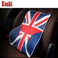 NEW 1pc Comfortable Car Waist Cushion For Mitsubishi ASX Lancer 10 Outlander Pajero I200 Nissan Qashqai Juke X TRAIL TIIDA Note