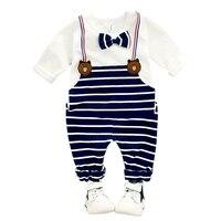Himealavo ropa del bebé fresco Niños 2 unids traje (t-shirt + Pant) otoño e Invierno ropa infantil ropa de los cabritos