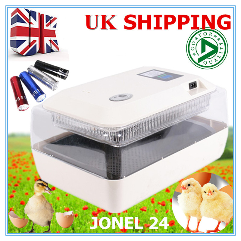 2017 Automatic Poultry Egg Incubator Hatching Machine Automatic LED Display 24 Chicken Bird Geese Egg Incubator Machine delicious snacks equipment automatic egg tart skin forming machine egg tart skin machine