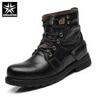 URBANFIND Tactical Combat Men Shoes New England Martin Boots EU 38 44 Men Autumn Winter Lace