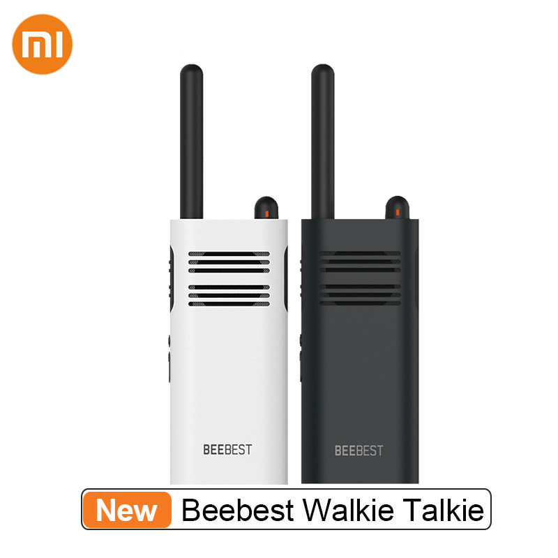 New Xiaomi Mijia Beebest Xiaoyu Walkie Talkie Long Standby Speaker Fast Team Two Way Radio Transceiver Walkie Talkies