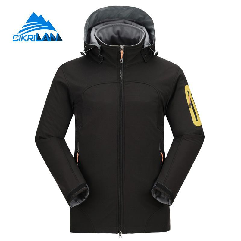 2019 Hiking Camping Outdoor Softshell Jacket Men Trekking Windbreaker Jaqueta Masculina Climbing Coat Fishing Chaqueta Hombre