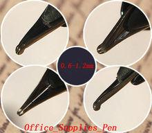4Pcs Fountain Pen Nibs 0.6-1.2mm Bent Nib For Wing Sung 618 601 613