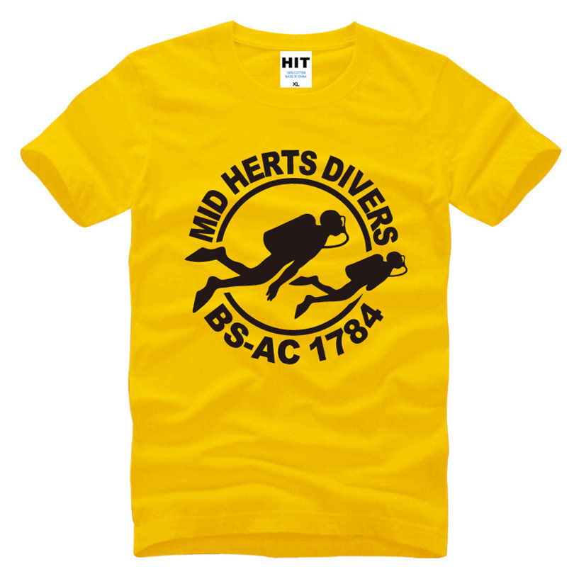Mid Herts Divers логотипі басылған ерлерге - Ерлерге арналған киім - фото 4