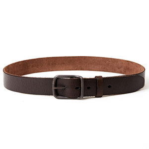 Image 5 - Top quality mens genuine leather belt designer belts men luxury strap fashion vintage pin buckle for jeans store star products