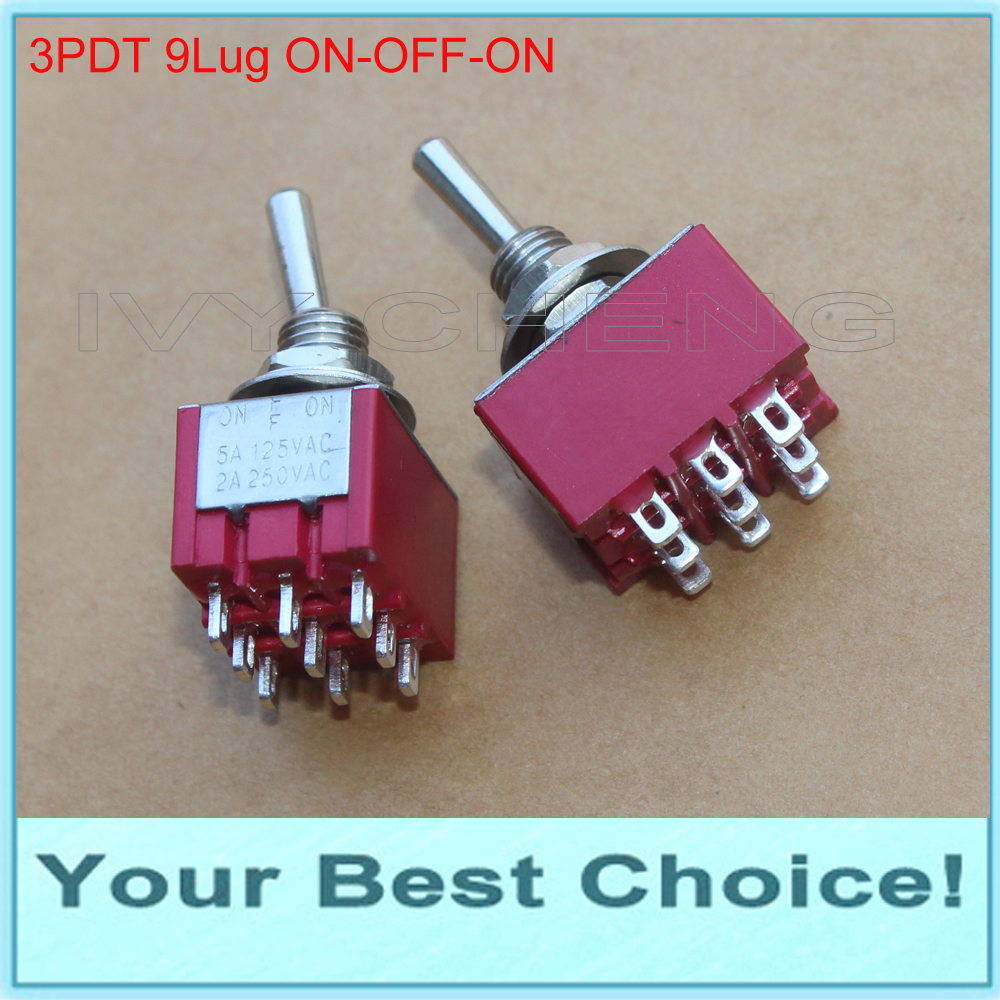 3p3t Toggle Switch Wiring Diagram For Lights Schematic 3pdt 5pcslot 3position On Off Miniature Rocker Switch9 Rhaliexpress