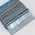 10 unidades de la rueda de equilibrio de peso peso de la rueda (5 + 10) g * 4 = 60g superficie de Zinc plateado azul cinta