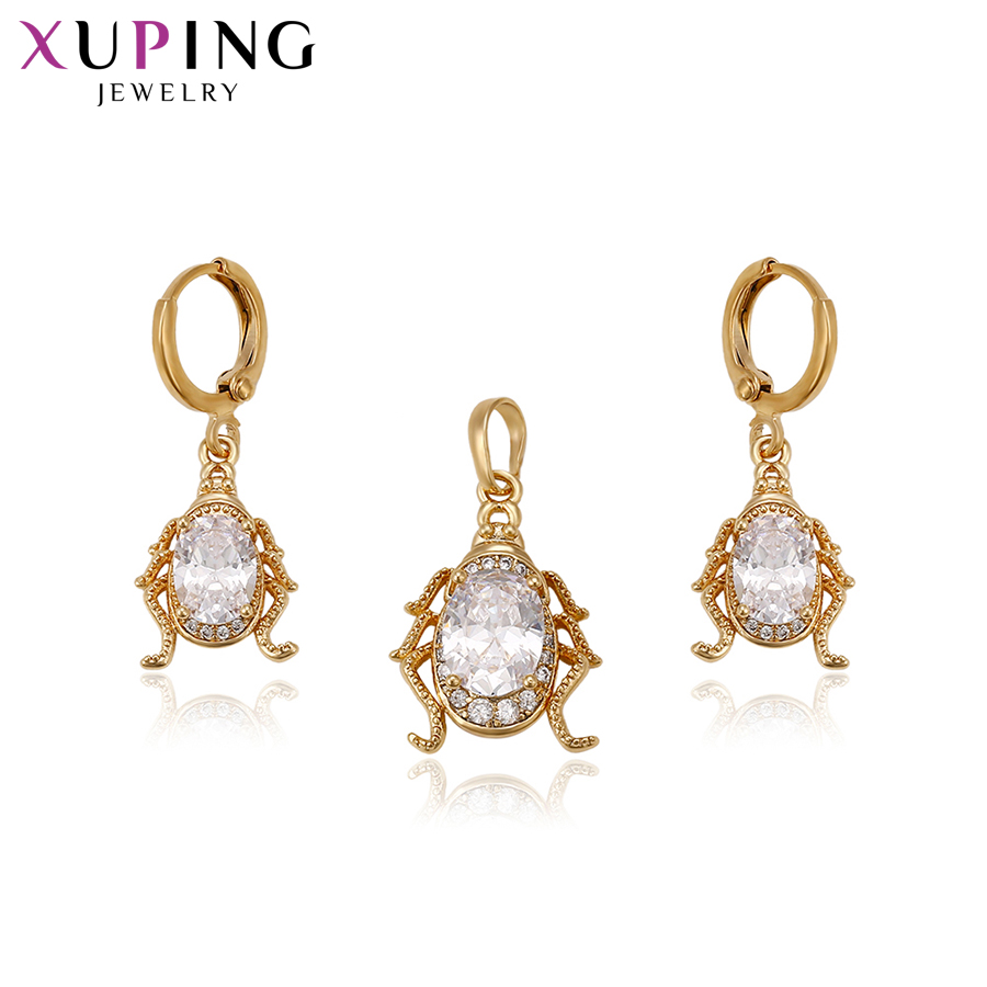 11.11 Deals Xuping Fashion Set for Women Charms Style High Quality Imitation Jewelry Sets for Black Friday Gifts S84,5-62922