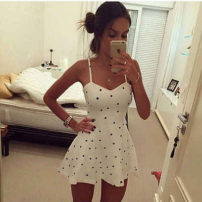 Meihuida 2019 Women Summer Casual Backless Evening Party Dress Short Mini Dress Summer Fashion Clothing