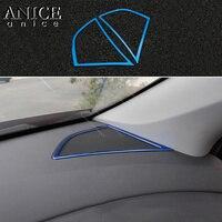Stainless Center Console Speaker Frame Cover For Chevrolet Cruze 2016 2019