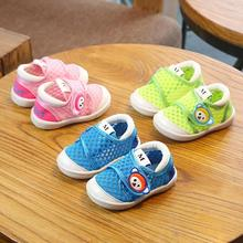 Summer baby shoes soft bottom hollow net baby boy girl shoes non-slip Footwear for infant baby XV2