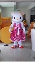 BING RUI CO High quality of Hello Kitty Mascot Costume Hello Kitty Mascot costume, Terms head, No cardboard Free shipping