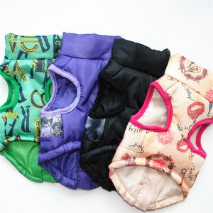 Image 3 - 1pcs Puppy Dog Coat Jacket Clothes For Dogs Pet Dog Clothes Vest Harness Apparel French Bulldog Yorkshire Terrier Honden Kleding