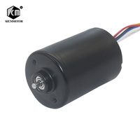 CW/CCW PWM Adjustable Speed Mini BLDC 12v 24v High Speed Long Life Silent Brake Micro Tubular DC Brushless Motor