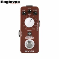 MOOER Pure Octave Electric Guitar Pedal 11 Different Octave True Bypass
