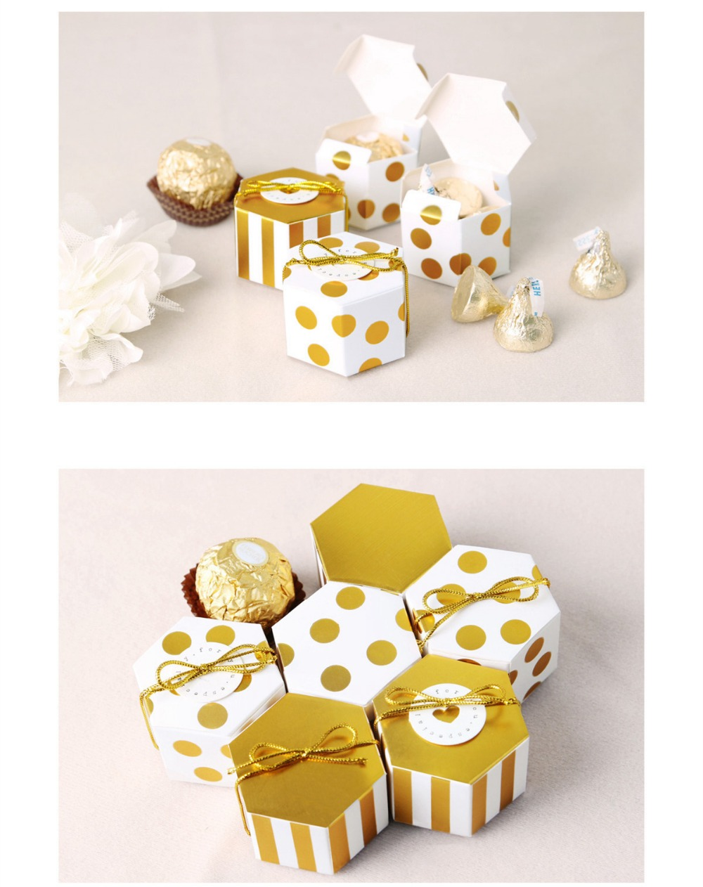 Valentine\'s day gift Box Wedding Favor Boxes DIY Wedding Gift Box ...