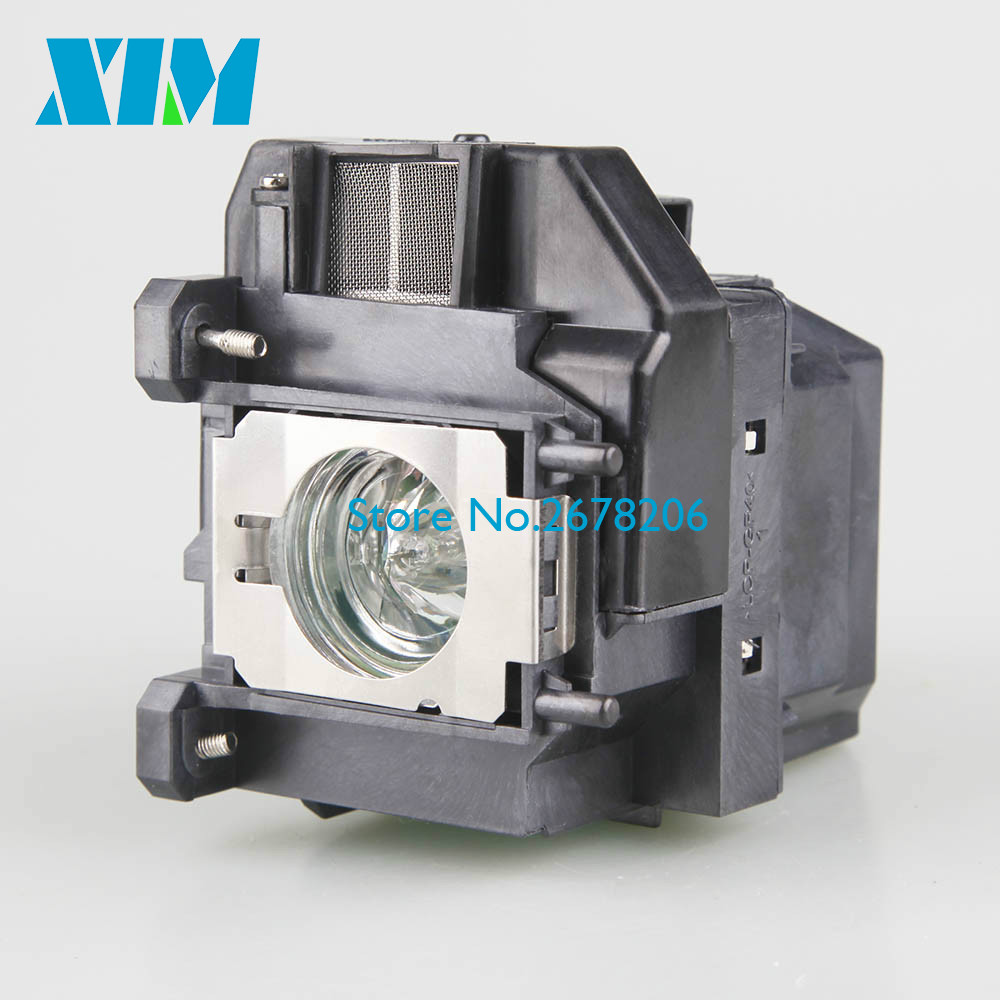 Replacement Projector lamp ELPLP67 for Epson EB-X02 EB-S02 EB-W02 EB-W12 EB-X12 EB-S12 EB-X11 EB-X14 EB-W16 EX5210 xim projector lamp with housing elplp67 for epson eb c30x eb s01 eb s02 eb s02h eb s11 eb s12 eb tw480 eb w01