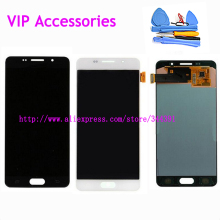 Original A510 LCD Screen Display Touch Digitizer Assembly For Samsung Galaxy A5 A510Y SM-A510F A510FD A510 2106 LCD TOOLS Track
