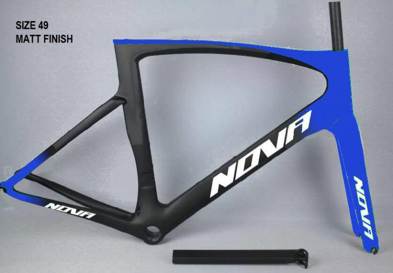 Cuadro de bicicleta de carbono marca NOVAL solo para bicicleta de ciclismo Paulin mate pf30 de alta calidad