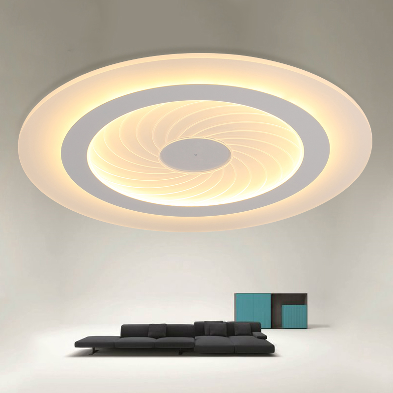 modern simple LED Ceiling Light acrylic Ultrathin Living ...