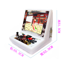 Mini 19 inch LCD plastic shell Machine With Classical games 2222 in 1 Game board