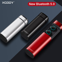 XGODY X9 TWS Mini Bluetooth 5.0 Earbuds Hand free Stereo True Wireless Bluetooth Earphone Headphones HIFI Earpiece For Cellphone