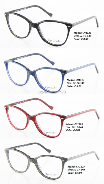 Eye wonder Wholesale Women Vintage Eyeglasses Frames Men Oculos de ...