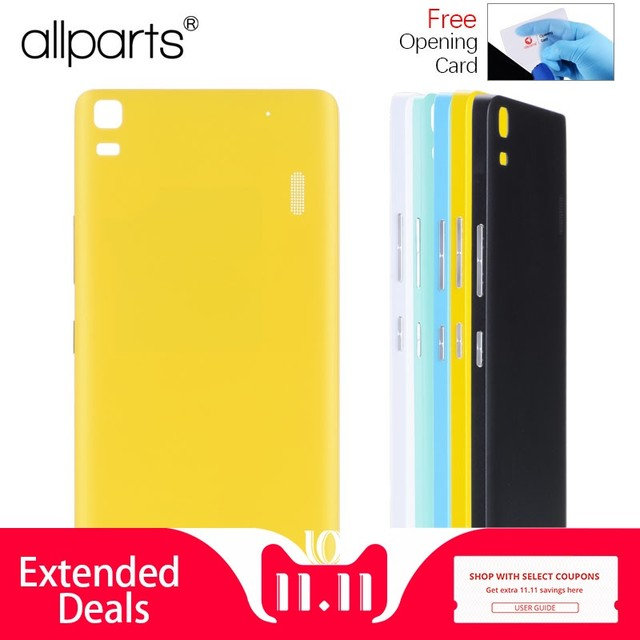 best service 80a7a 4a8f5 Original Rear Back Housing for Lenovo A7000 K3 Note Back Cover Battery Door  Case with Power Volume Button Replacement Parts-in Mobile Phone Housings ...