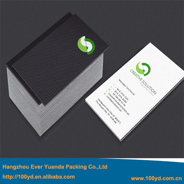 350gsm art paper simple coloful printing visiting card name card one 350gsm art paper simple coloful printing visiting card name card one side matt black90 reheart Image collections