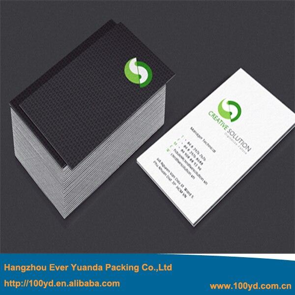 350gsm Kunstdruckpapier Einfache Coloful Druck Visitenkarte