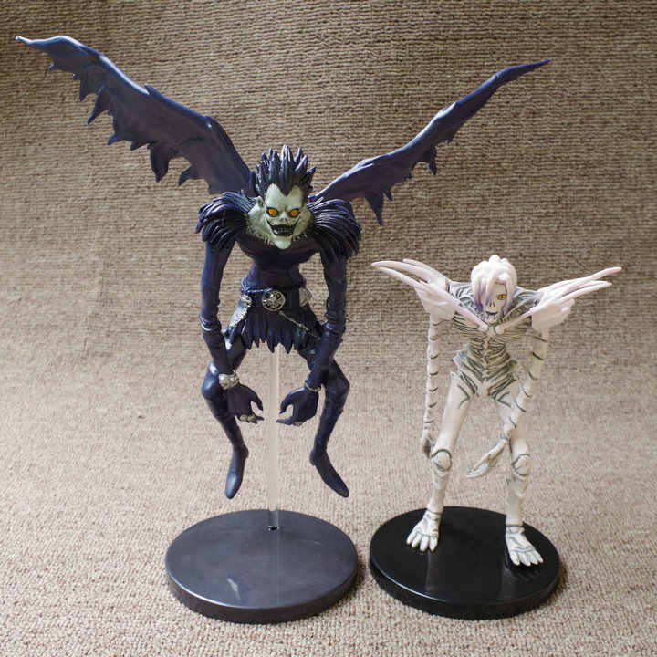 15-19CM Japanese classic anime figure death note Rem/Ryuuku  action figure collectible model kids toys for boys