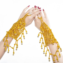 Women Jewelries Belly Dance Costume Accessories Tassel Necklace Indian Jewelry Set bracelets 2 pieces