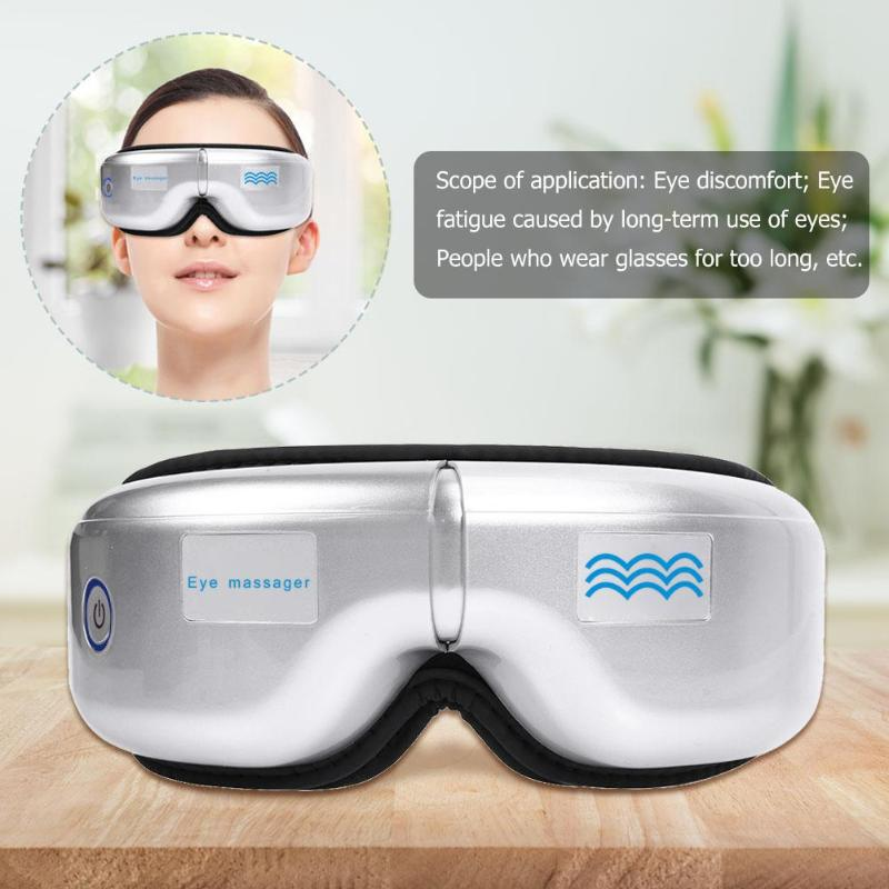 Portable Eye massage SPA Instrument Electric Air pressure Eyes massager Wireless Vibration Magnetic Therapy massage Folding