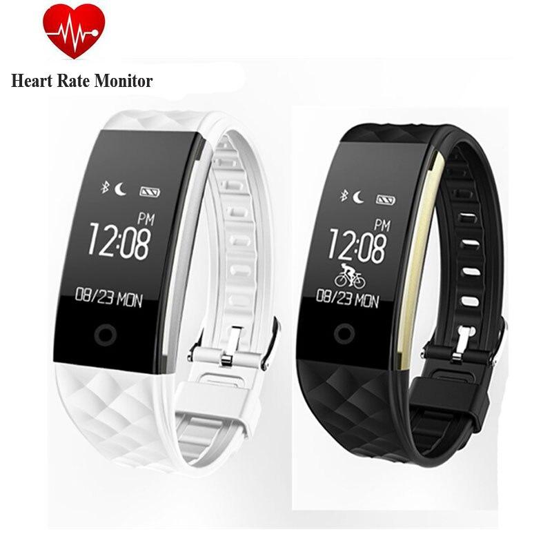 New Hot Smart Bracelet S2 Bluetooth 4 0 IP67 Waterproof Heart Rate Monitor Smart Band 0