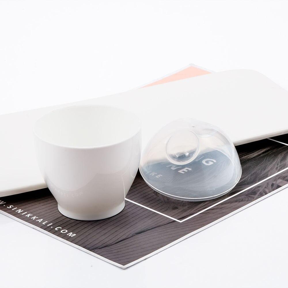 Творческий Кухня белый микроволновая печь чашка, кастрюля-пашотница Пособия по кулинарии быстрая яйцеварка Кухня расходные материалы