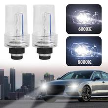 2pcs D2-BBT/D2-BDT 35W HID Xenon Car Headlight Replacement Bulb Lamps 6000K 8000K Headlamp