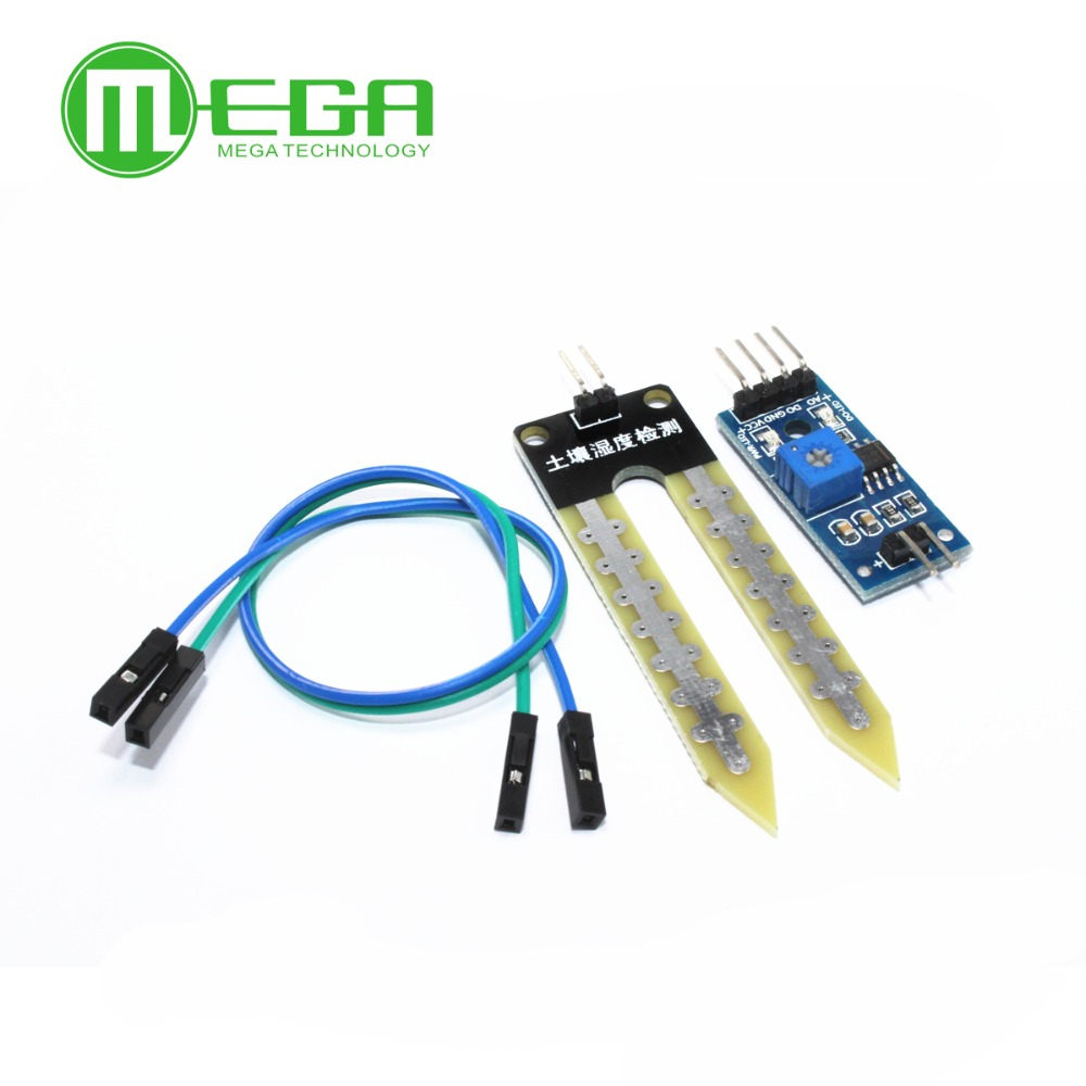 1pcssoil Moisture Meter Testing Module Soil Humidity Sensor Robot Circuit Intelligent Car Integrated Circuits In From Electronic Components