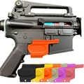 2Pcs Tactical Polimero Ad Alta Resistenza Trigger Copertura di Protezione di Sicurezza di protezione Strumento per la Caccia Airsoft Tiro AR15 Rifle Accessorio