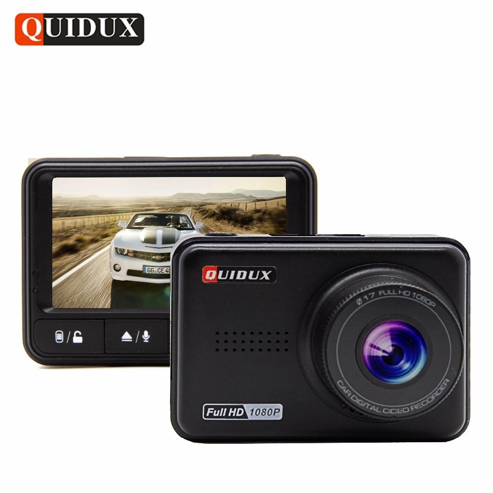 QUIDUX mini Car DVR 1080P WDR Night Vision Full HD Video Recorder Novatek 96658 Dash Camera 170 Wide Angle Vehicle Camcorder стоимость