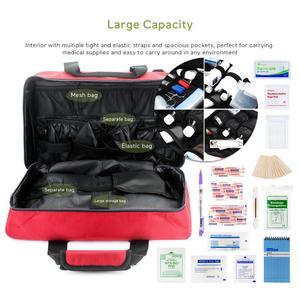 Image 2 - 높은 품질 핸디 빈 응급 처치 가방 응급 키트 간호사/의사 의료 장비 악기 가방 가족 병원