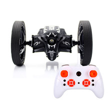Hottest JJR/C Remote Control Bounce Car 2.4GHz 2-Second Rotation Stunt RC Jumping Car for Child