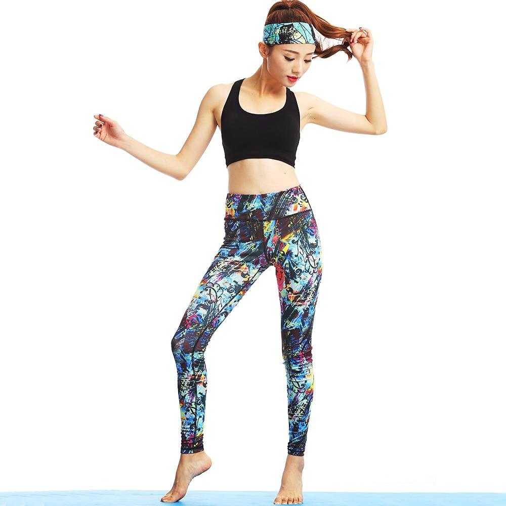 Vrouwen Yoga Sport Sets Gym Workout Sportkleding Pak Elastisch - Sportkleding en accessoires - Foto 3