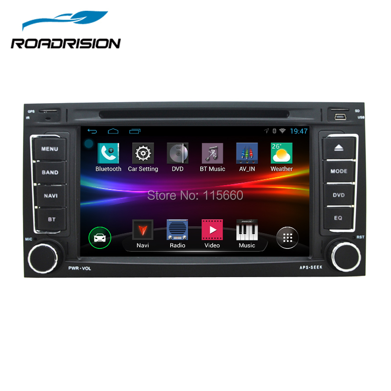 roadrision android 6 0 2din car dvd gps navigation for vw. Black Bedroom Furniture Sets. Home Design Ideas