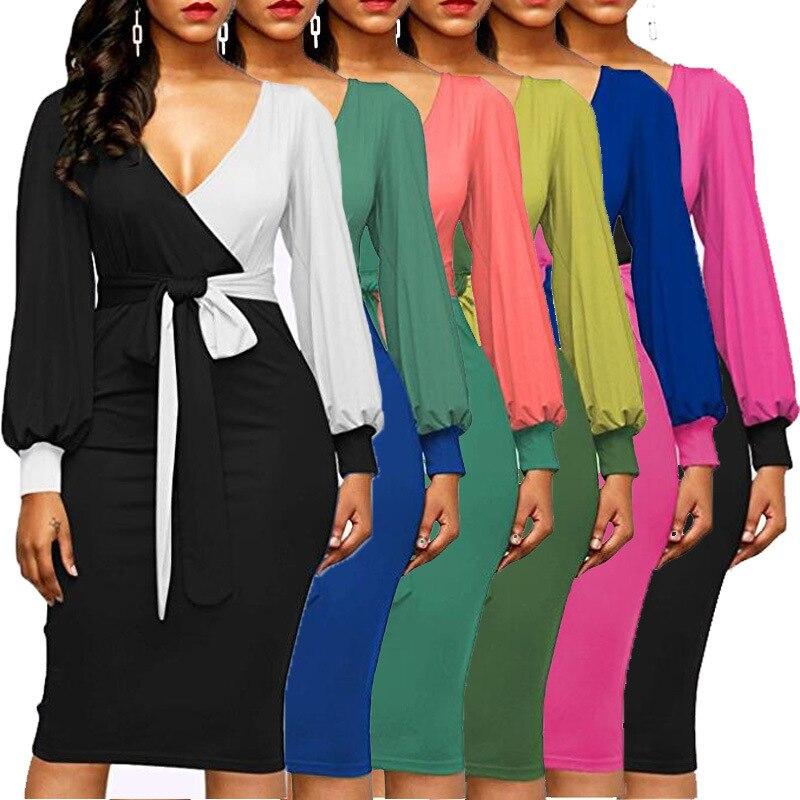 Vestido de talla grande de Mujer Africana elegante de estilo a la moda 2019