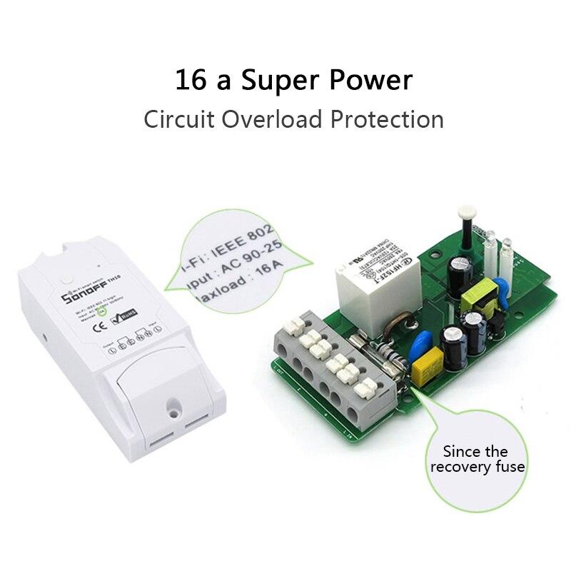 5 STÜCKEWifi WLAN Switch Smart Schalter für Alexa APP-Steuerung 2200W