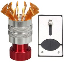 Watch Case Repairt Tool Kit Crystal Glass Lift Remover Watchmakers Watch Repair Tool + Adjustable Base