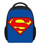 3D Spiderman Captain America Superman Children School Bags Schoolbag Kindergarten Preschool Elementary School Backpacks For Boys