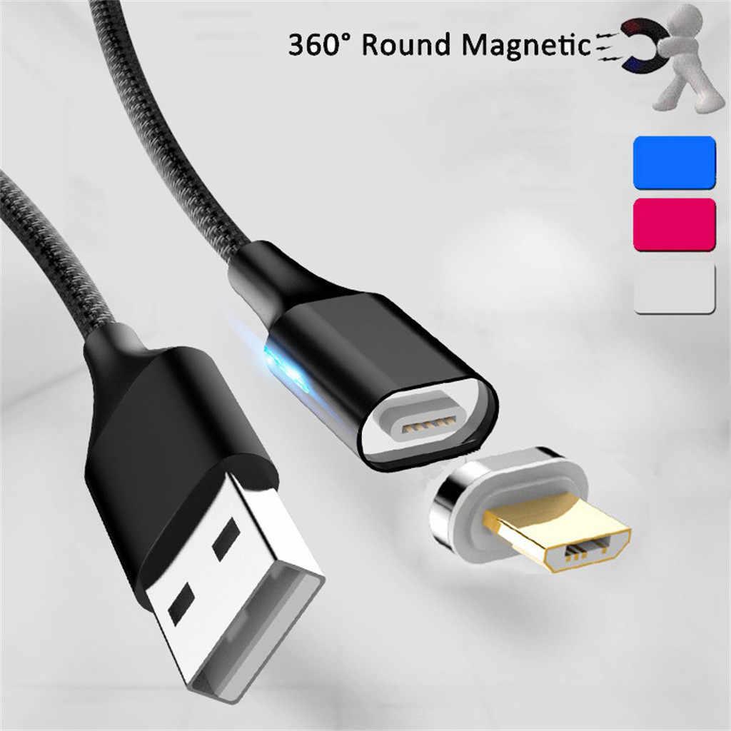 2.4A USB مغناطيسي صغير كابل شحن محول شاحن ل الروبوت لسامسونج